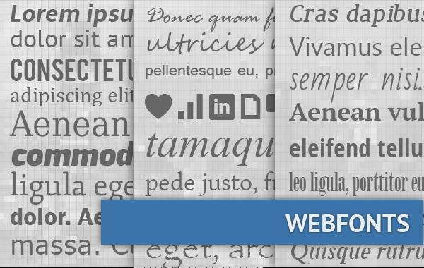 Webfonts im Pagemachine Blog