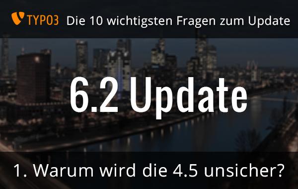 TYPO3 6.2 Update