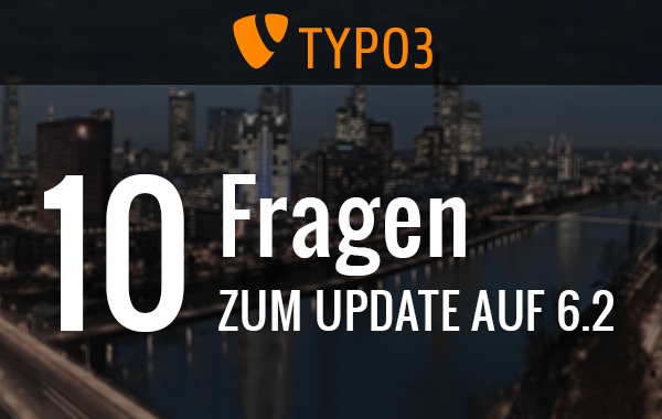 TYPO3 Update Fragen im Pagemachine Blog