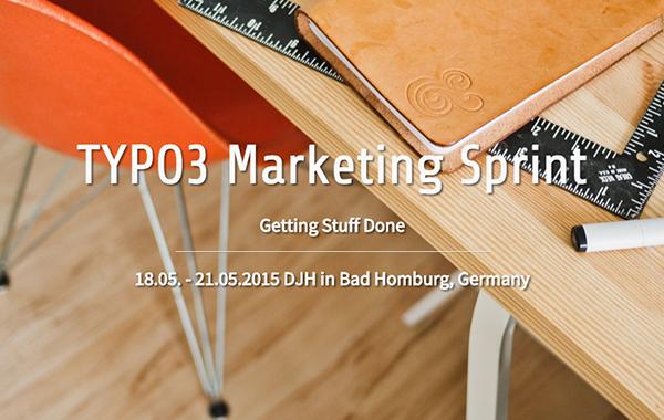 TYPO3 Marketing Sprint 2015