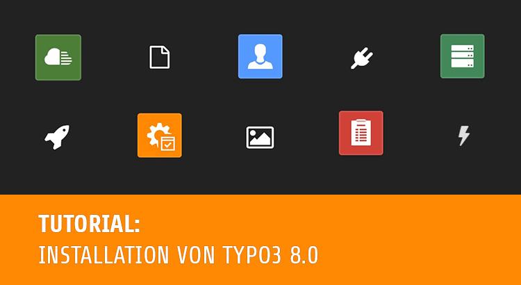 TYPO3 8 LTS als Testsystem selbst installieren i