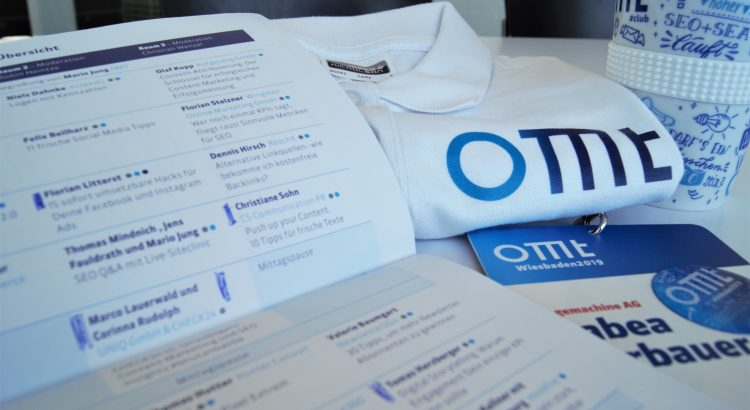 OMT OnlineMarketing Tag 2019 Recap
